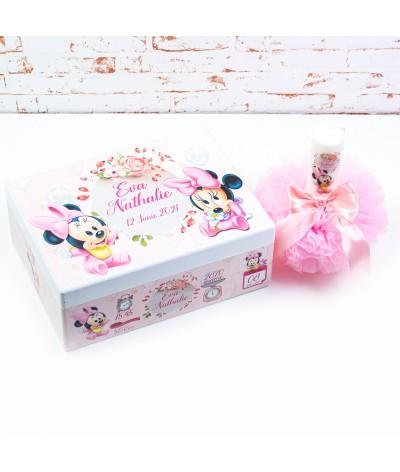 Set trusou botez Baby Minnie baloane - 3