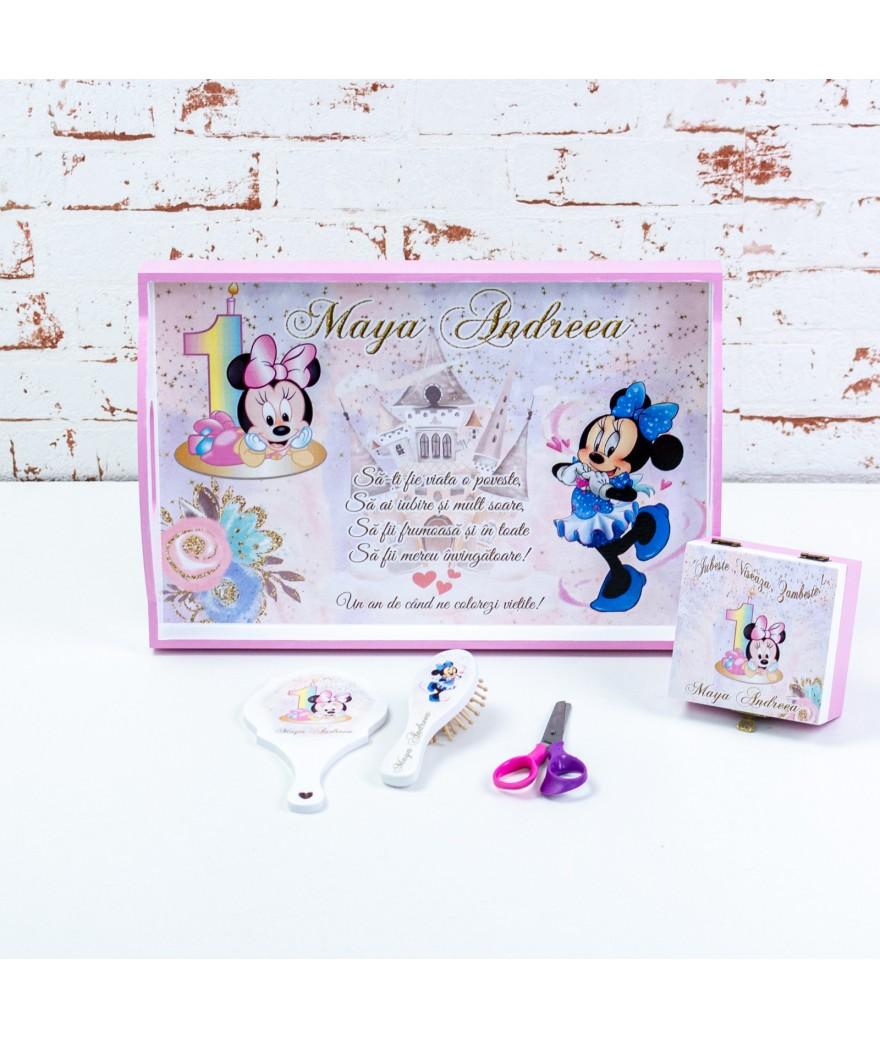 Set mot/turta Blue Minnie mouse - 1