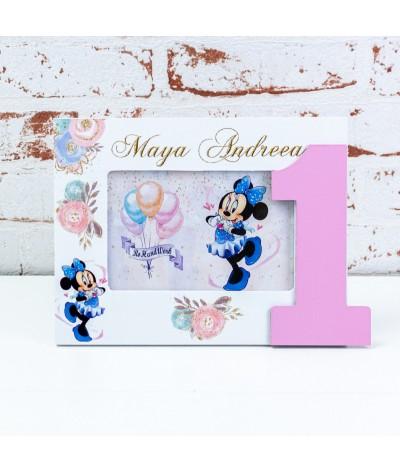 Set mot/turta Blue Minnie mouse - 2