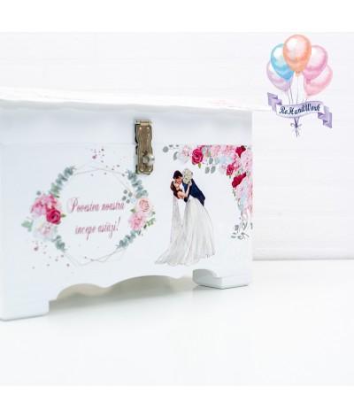 Cufar nunta cu trandafiri (150-200 plicuri) - 3