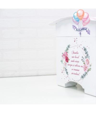 Cufar nunta cu trandafiri (150-200 plicuri) - 5