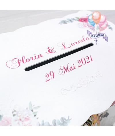 Cufar nunta cu trandafiri (150-200 plicuri) - 2