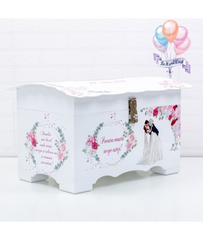Cufar nunta cu trandafiri (150-200 plicuri) - 4