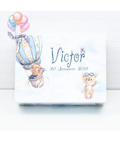 Cutie Amintiri Ursulet in balon - 3