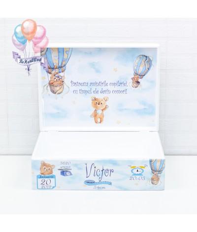 Cutie Amintiri Ursulet in balon - 4