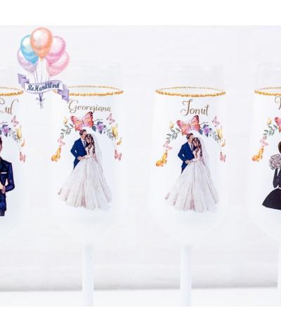 Set pahare Nunta - 2