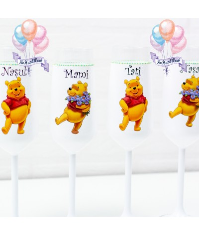 Set pahare botez Winnie - 2
