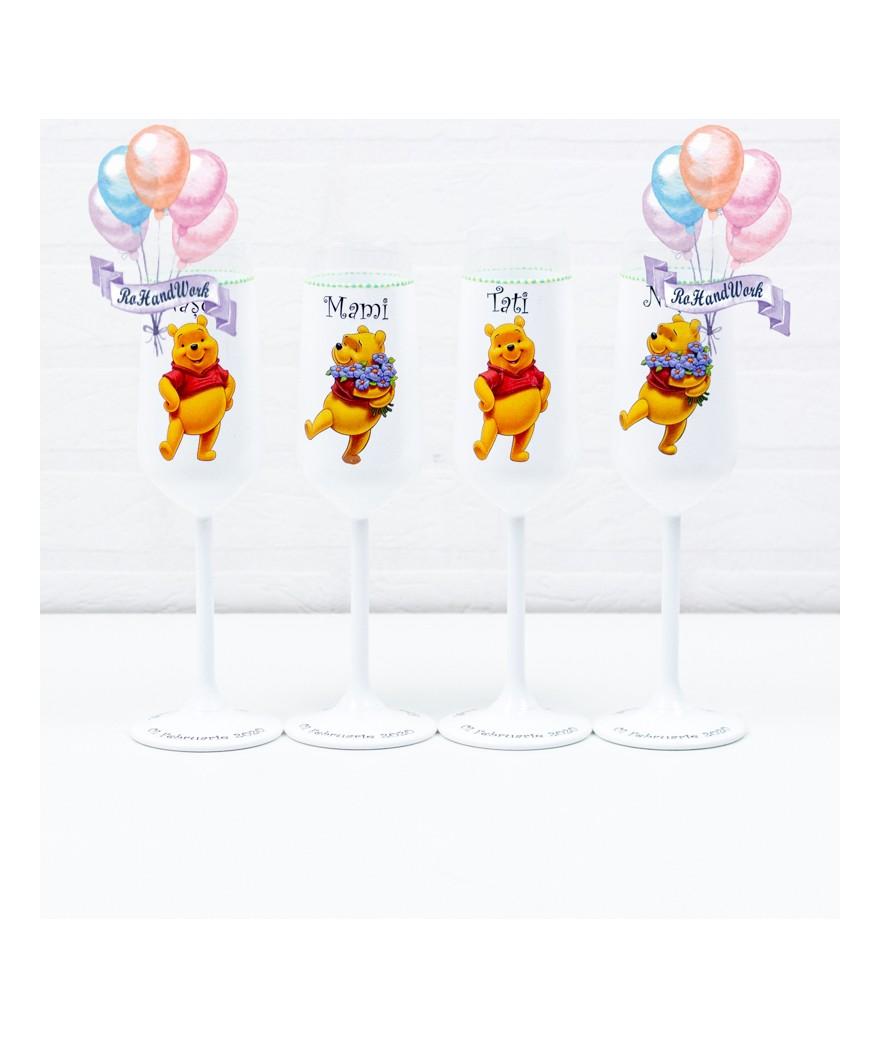 Set pahare botez Winnie - 1