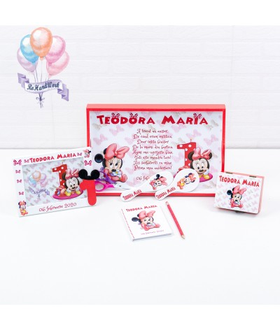 Set mot/turta Baby Minnie mouse - 1