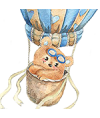Indragitul Ursulet in balon